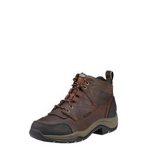Ariat Women's Terrain Waterproof Shoes in Copper Leather, Size 9 C / Wide by Ariat