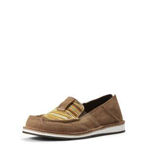 Ariat Women's Cruiser Shoes in Dark Tan Leather, Size 11 B / Medium by Ariat