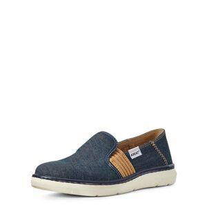 Ariat Women's Ryder Boots in Denim Blue Leather, Size 6 B / Medium by Ariat