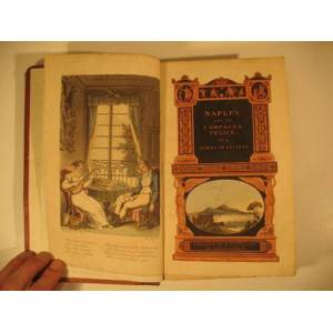 Naples and the Campagna Felice. In a Series of Letters addressed to a Friend in England in 1802. Engelbach u. Thomas Rowlandson. [ ] [Softcover]