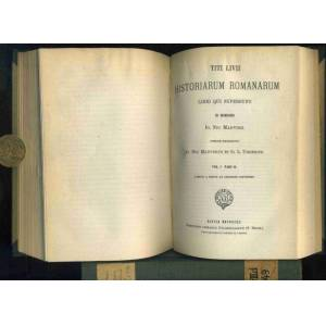 Historiarum Romanarum Libri qui supersunt. Ex Regensione Io. Nic. Madvigii. 2 Bände in einem Band: Vol I. Pars I. Libros quinue primos continens. / V