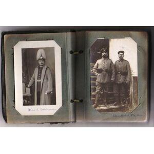 Fotoalbum mit 44 original Aufnahmen der Familie Heinrich und August Schünemann Kriegs-Erinnerungen [ ] [Hardcover]