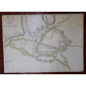 Vogelschauplan von Stadt und Zitadelle. Plan à vol d oiseau. Plan de la Ville et Citadelle de Metz. [ ]