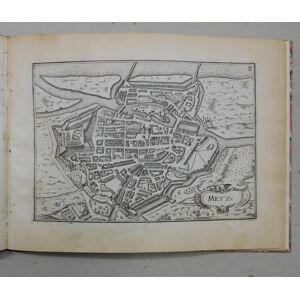 Plans et profilz des principales villes du Duché de Lorraine, avec les cartes générale & particulières de chacun gouvernements d'icelles.? Par le Sie