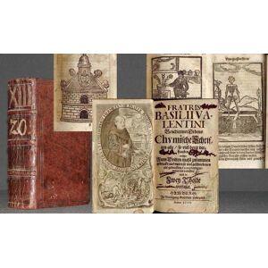 Chymische Schriften alle/ so viel derer verhanden anitzo zum Dritten mahl/ zusammen gedruckt/ aus vielen so wol geschriebenen als gedruckten Exemplar