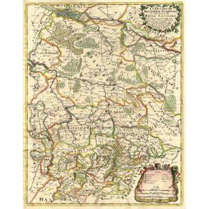 'Li Ducati Di Brunswick e Luneburg che costituiscono parte della Bassa Sassonia descritti come presentemente Sono diuisi tra i Prpi della Casa di Bru