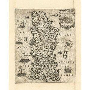 'Candia uel Creta insula posta nel mare Mediterraneo locho delli Ill.mi S.ri Veneciani piena didegne antiquitadi, et insula fertile di ógni gutia, et