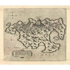 'Zante insula posta nel mare Mediteraneo longi dala Morea . bonissimo aere.':. ZAKINTHOS (Zakynthos / Zante) / Ionische Insel: [ ]