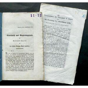 Sammelband : div. Berichte, Gutachten u.ä. zur Berufung der Jesuiten an die höhere Lehranstalt in Luzern, teilw. mit Beilagen; enthält u.a. 'Bericht