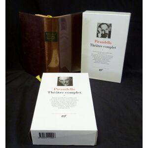 Pirandello : Théâtre complet (complet en deux volumes) Pirandello Luigi [ ] [Hardcover]