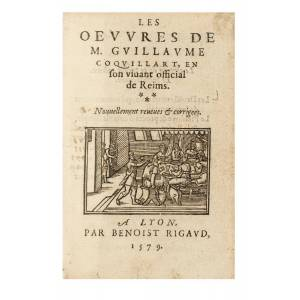 Les oeuvres. COQUILLART, Guillaume. [Fine] [Hardcover]