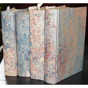 Taschenbuch zum geselligen Vergnügen. Neue Folge. 5.-8. Jahrgang 1825-1828. 4 Bände. Becker, W. G. (Wilhelm Gottlieb) (Hrsg.) [ ]