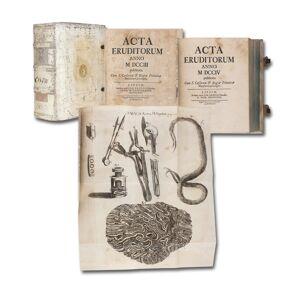 publicata. 2 Jahrgänge in 1 Band. Acta eruditorum anno MDCCIII (et MDCCIV) [ ] [Hardcover]