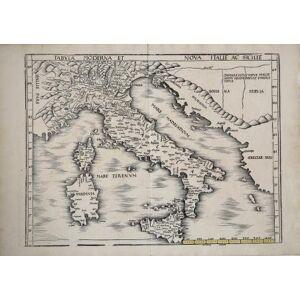 Tabula Moderna et Nova Italiae ac Siciliae Martin WALDSEEMULLER [ ]