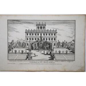 Veduta del palazzo della Villa dell'Ecc.ma casa Altieri posta sopra il monte Esquilino Alessandro SPECCHI [ ]