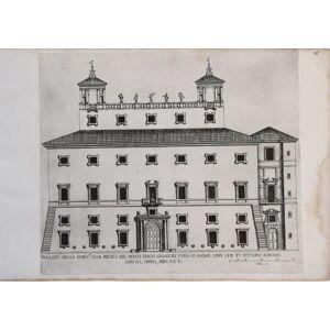 Palazzo della Seren.ma casa Medici nel monte Pincio architettura di Anibal Lippi… FERRERIO Pietro [ ]