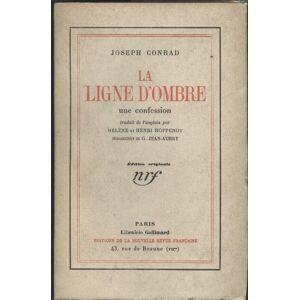 LA LIGNE D'OMBRE-UNE CONFESSION CONRAD JOSEPH [Near Fine] [Softcover]