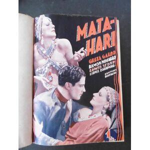 LA NOVELA SEMANAL CINEMATOGRÁFICA: Mata-Hari; Carceleras; Erase una vez un vals; Hombres en mi vida; Niebla; Rebeca.   [ ] [Hardcover]