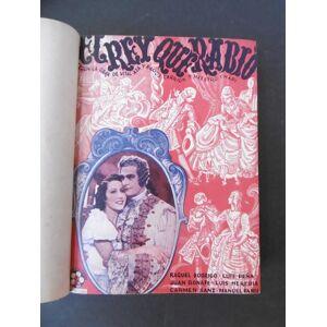 LA NOVELA SEMANAL CINEMATOGRÁFICA: El rey que ravío; El último Húsar; El famoso carballeira; Julieta y Romeo; El hombre de la Legión; Lluvia de millo