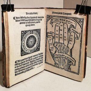 Compotus manualis Magistri Aniani cum familiarissimo Iacobi Marsi Delphinatis commentario, cu[m]q[ue] Magistri Nicolai Bonespei Kale[n]dario, & Cerei