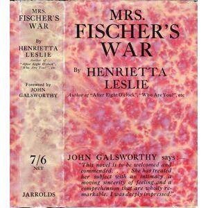 Mrs. Fischer's War LESLIE, Henrietta [ ] [Hardcover]
