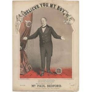 [Sheet music]: I Believe You, My Boy BEDFORD, Paul [Near Fine] [Softcover]