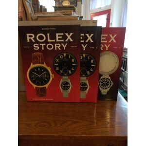 Rolex Story. Italiano/English (2 Volumes in slipcase) Mondani Family [Fine] [Hardcover]
