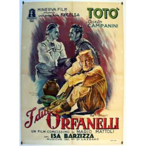 I DUE ORFANELLI MOVIE POSTER/I DUE ORFANELLI/POSTER   [ ]