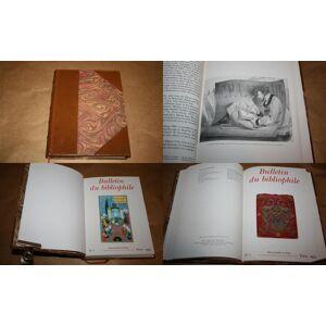 Bulletin du Bibliophile. 1995. N° 1 et N° 2. Deux Bulletins Reliés. Année 1995 Complète. Collectif. [Fine] [Hardcover]