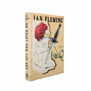 The Spy Who Loved Me Uncorrected Proof Copy Ian Fleming [Near Fine] [Hardcover]