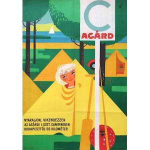 Camping in Agard - Lake Velence Szücs, Pál [ ] [Hardcover]