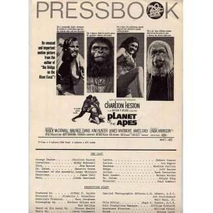 Planet Of The Apes 4pg. Pressbook Heston, Charlton [ ] [Softcover]