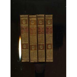LE CABINET SECRET DE L'HISTOIRE. Nouvelle édition. 1re, 2me, 3me et 4me série. 44 gravures hors texte. Le tome IV contient la table générale. CABANES