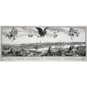 Der königl. Residentz-Stadt Berljn Nordliche Seite 1717. - Urbs augusta, ingens, Borussi Regia Martis . BERLIN - GESAMTANSICHT: [ ]