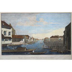 "A ""Vue prise du pont, dit Fischer Brücke jusqu au pont des Orphelins"". BERLIN - ROSENBERG 18: FISCHERBRÜCKE: [ ]"