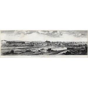 """Gesamtansicht, """"Profil de la Ville de Metzen Lorraine vue du coste de la porte Mazel"""". METZ: [ ]"""