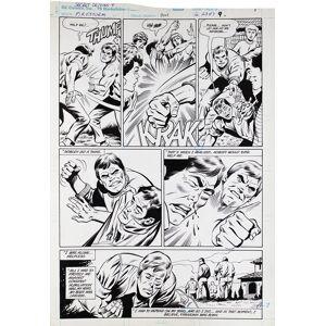 "Secret Origins Firestorm, Vol.2, Issue 4, page 9 ""The Secret Origin of Firestorm, the Nuclear Man"" (Comic Art) Tuska, George [Fine]"