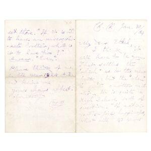 "Autograph Letter, signed, to ""Ethel"" [Hatch] Dodgson, Charles L. [ ] [Hardcover]"