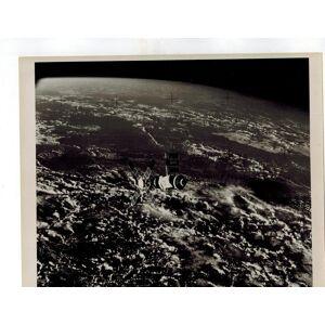 """Skylab II in Flight"" Original 8 x 10 B&W Publicity Photograph National Aeronautics and Space Administration (NASA) [Near Fine] [Softcover]"