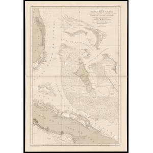 Carta del Gran Banco de Bahama, Parte de la Isla de Cuba y Costa de la Florida Carta del Gran Banco de Bahama, Parte de la Isla de Cuba y Costa de la