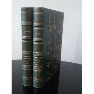 La vie et les opinions de Tristram Shandy. Traduction de M. Frénais pour la 1re et la 2e partie et de M. D. L .B, pour les 3e et 4e partie. Complet (