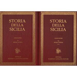 Storia della Sicilia. Volumi primo e secondo La Sicilia Antica (1 e 2) AA.VV. [ ] [Hardcover]