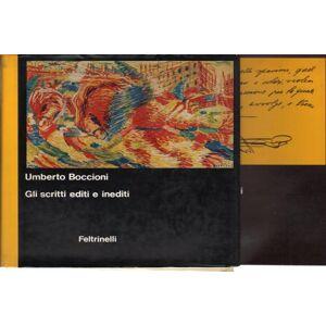 Umberto Boccioni: gli scritti editi e inediti (2 Volumi) Altri inediti e apparati critici Zeno Birolli [ ] [Hardcover]