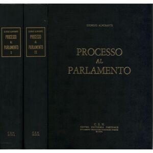 Processo al Parlamento (2 volumi) Giorgio Almirante [ ] [Hardcover]