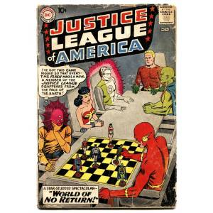 Justice League of America #1 First issue DC key Silver-Age Comic Book   [Good] [Hardcover]