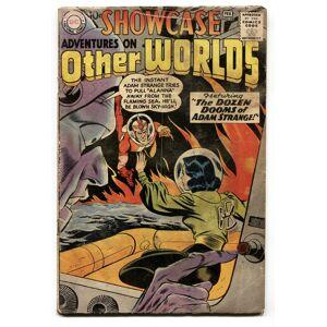 SHOWCASE #18-1959-DC-2nd ADAM STRANGE comic book G-   [Good]