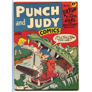 Punch and Judy Vol. 2 #11 1947-Hillman-2 Jack Kirby stories-FN+   [Fine]