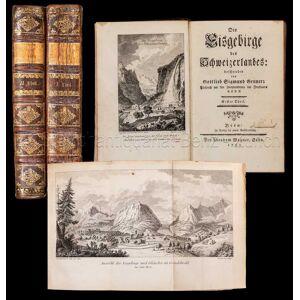 Die Eisgebirge des Schweizerlandes. Gruner, Gottlieb Sigmund: [ ]