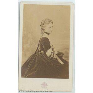 Unusual unsigned carte de visite photo by le Jeune (of Denmark, 1844-1925, his Queen)] [ALEXANDRA [ ]