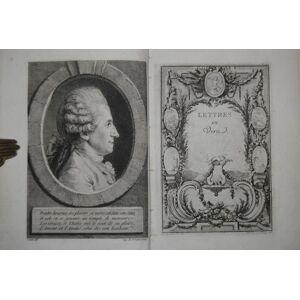 Lettres en vers, et oeuvres melées de M. D.** Band 1 (statt 2). Dorat, Claude Joseph. [ ] [Hardcover]